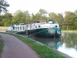 Barge Meanderer in Briare © Sonia Jones