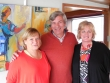 MS Elisabeth owners - Martine and Bernard - with Sonia © Sonia Jones