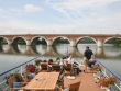 Approaching Pont Napoleon on the river Tarn © Saint Louis