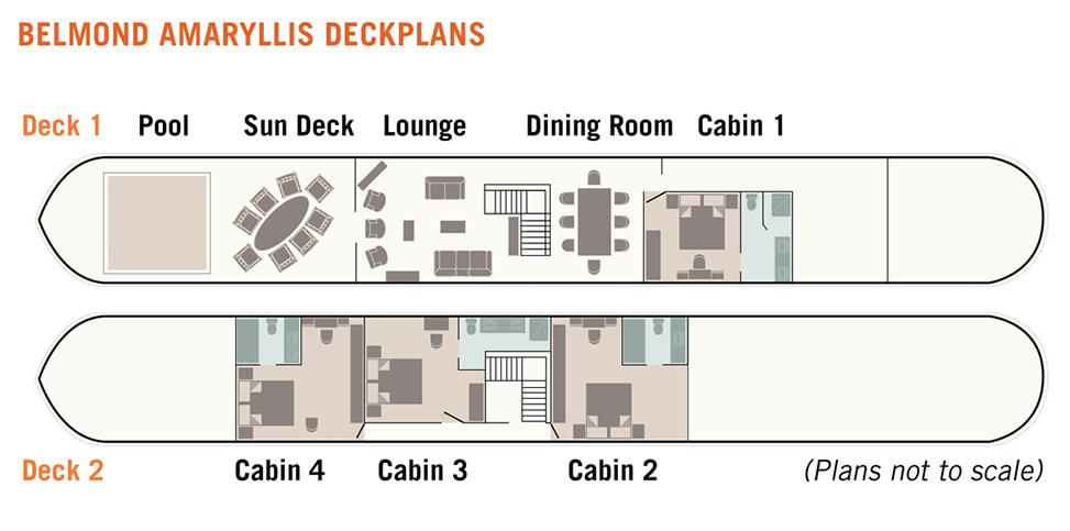 Belmond Amaryllis Floorplan
