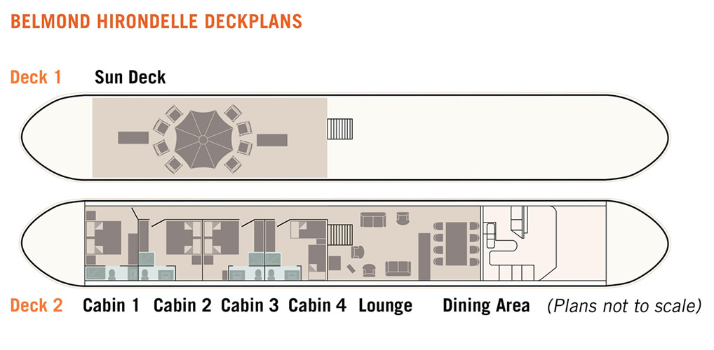 Belmond Hirondelle Floorplan