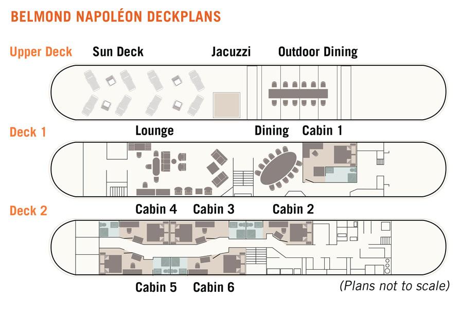 Belmond Napoleon Floorplan