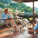 Hirondelle - Deck © Belmond Alfoat in France
