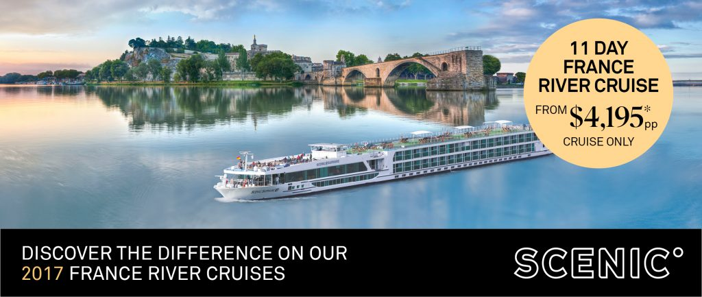 Scenic 2017 France River Cruises