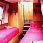 Rear Cabin set as twin © Class 1D