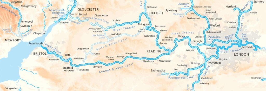 Kennet & Avon Canal Map