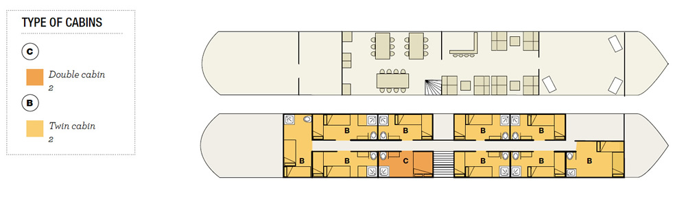 Floor Plan Barge #2